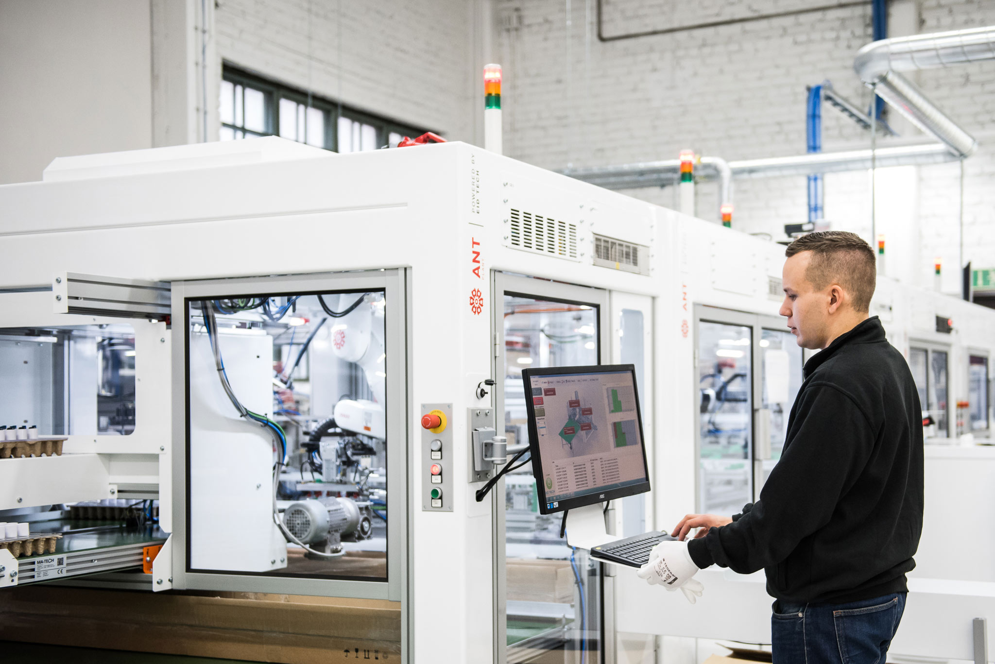 A Finnish microfactory concept makes production more cost-effective